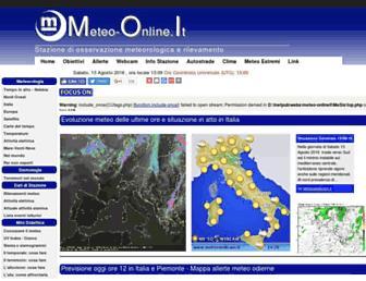 Thumbshot of Meteo-online.it