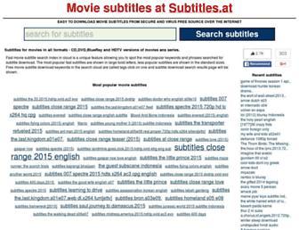 Thumbshot of Subtitles.at