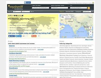 Thumbshot of Mysheriff.co.in