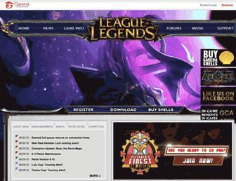 lol.garena.ph screenshot