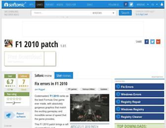 f1-2010-patch.en.softonic.com screenshot