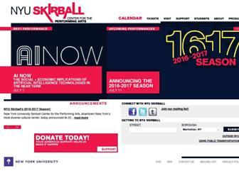 Thumbshot of Nyuskirball.org