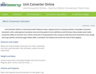 Thumbshot of Theunitconverter.com