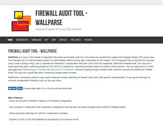 wallparse.com screenshot