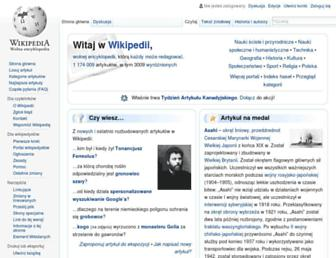 pl.wikipedia.org screenshot
