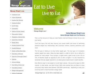 weightloss.herbalyzer.com screenshot