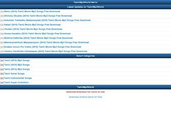 Thumbshot of Tamilmp3world.net.in