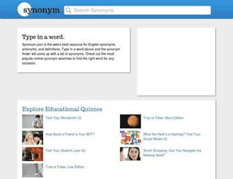 Thumbshot of Synonym.com