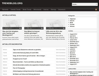 Thumbshot of Trendblog.org