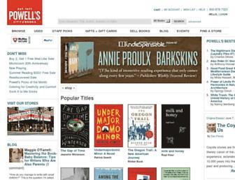 powells.com screenshot
