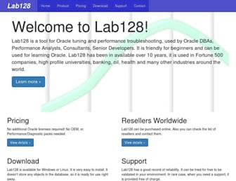 lab128.com screenshot