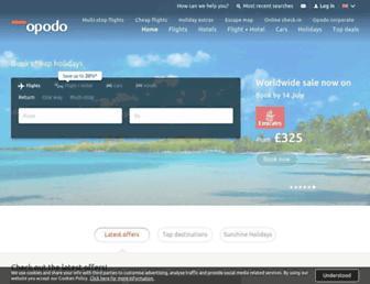 Thumbshot of Opodo.co.uk