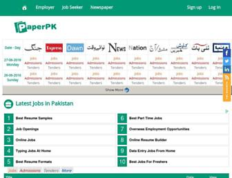 Thumbshot of Paperpk.com