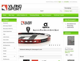 vilanosport.com screenshot