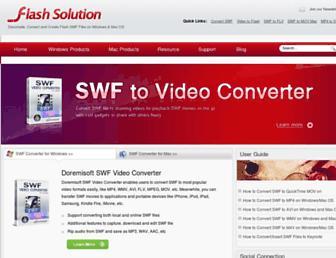 swfvideoconverter.com screenshot