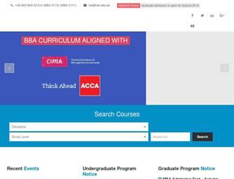 sb.iub.edu.bd screenshot