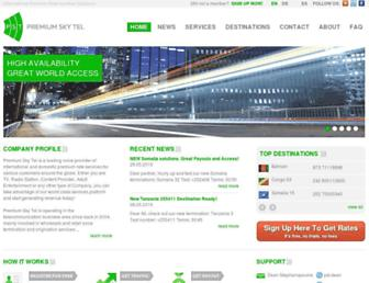 premiumskytel.com screenshot