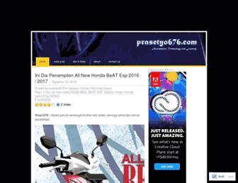 prasetyo676.com screenshot