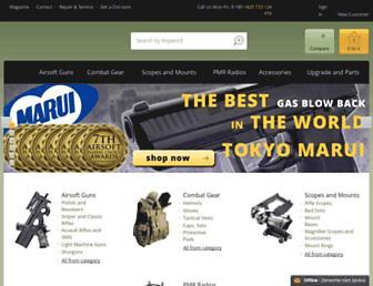 airsoftguns-europe.com screenshot