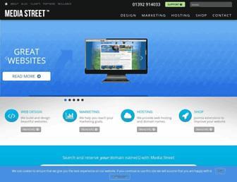 media-street.co.uk screenshot