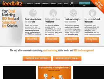 Thumbshot of Feedblitz.com