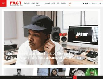Thumbshot of Factmag.com