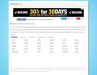 acronym24.com screenshot