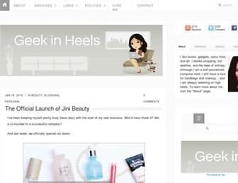 Thumbshot of Geekinheels.com
