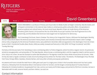 greenberg.rutgers.edu screenshot