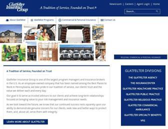 glatfelters.com screenshot