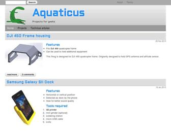 aquaticus.info screenshot