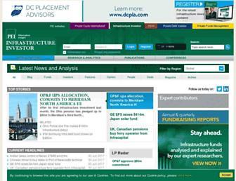 infrastructureinvestor.com screenshot