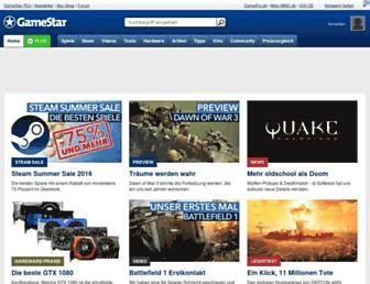 Thumbshot of Gamestar.de