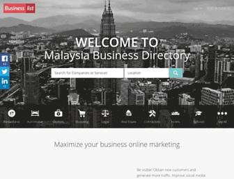 Thumbshot of Businesslist.my