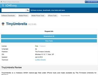 tinyumbrella.en.lo4d.com screenshot