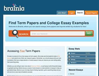 brainia.com screenshot
