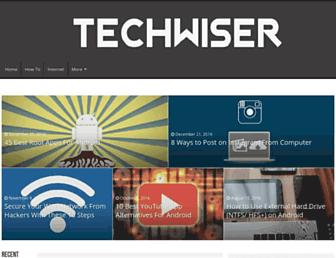 techwiser.com screenshot