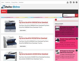 installerdriver.com screenshot