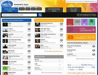 Thumbshot of Karaoke-version.de