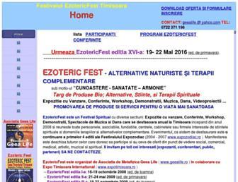 ezotericfest.ro screenshot