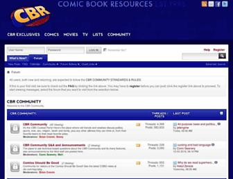 community.cbr.com screenshot