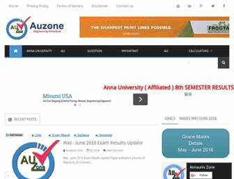 annaunivzone.com screenshot