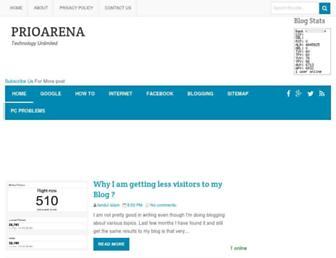 prioarena.com screenshot