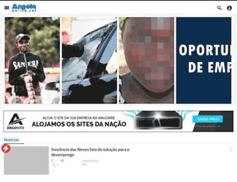 angola-online.net screenshot