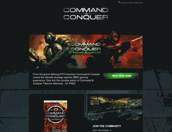 Thumbshot of Commandandconquer.com