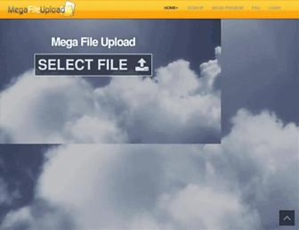 Thumbshot of Megafileupload.com