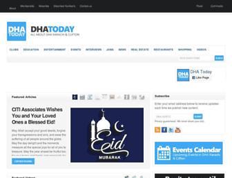 Thumbshot of Dhatoday.com