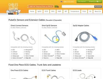 cablesandsensors.com screenshot