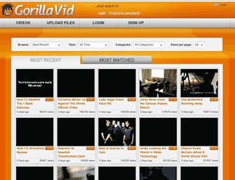Thumbshot of Gorillavid.in