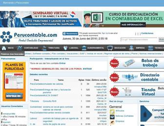 perucontable.com screenshot